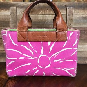Kate Spade Canvas Bucket Bag Tote